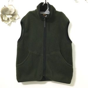 REI Polartec Thaw Men's Fleece Vest SZ M Alp Green